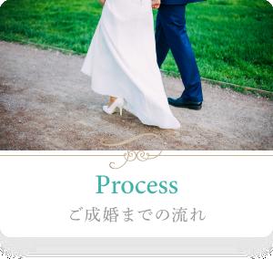 ヴィヴィマリーの婚活サポートシステム「ご成婚までの流れ」